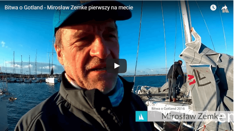 Bitwa o Gotland – Mirosław Zemke pierwszy na mecie