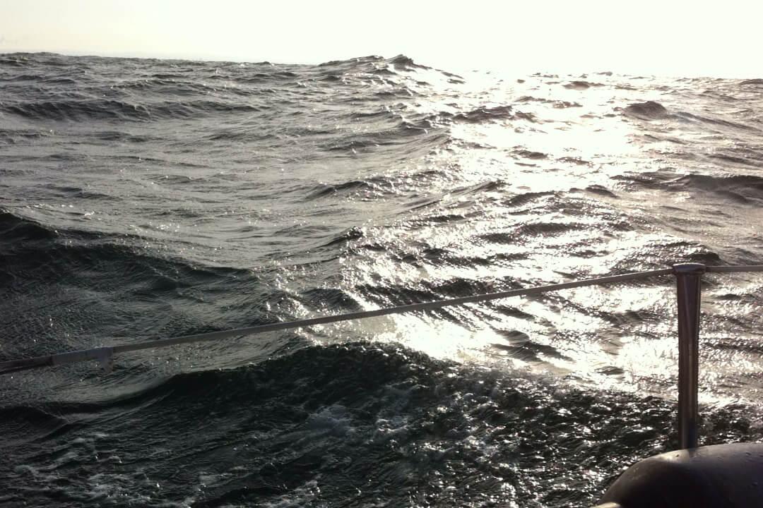Weekend październikowy na Zatoce Gdańskiej… Trochę nam powiało