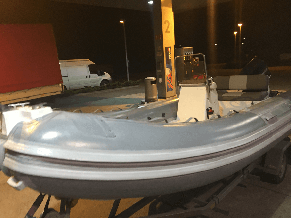 Transport i testy …. 490 cm – 70 KM