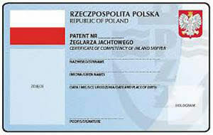 Patent żeglarza jachtowego
