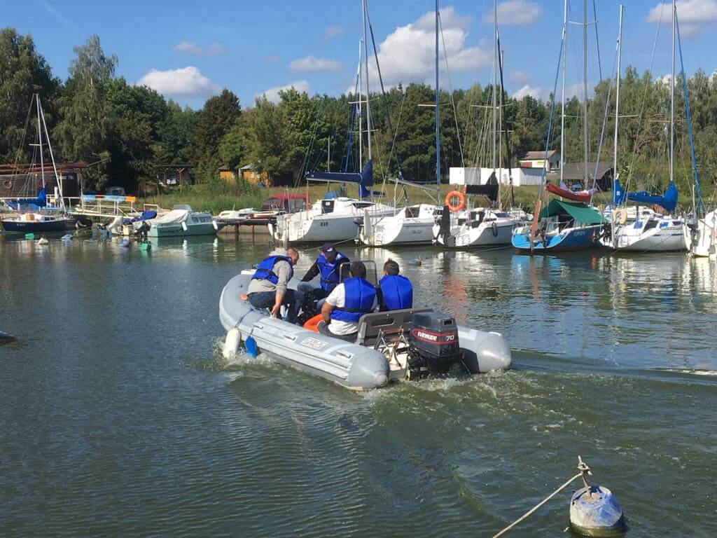 sternik motorowodny łódzkie