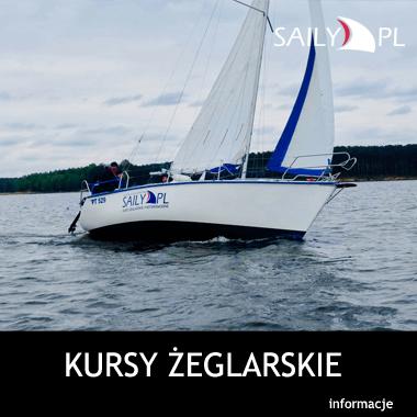Kursy żeglarskie weekendowe i codzienne Zalew Sulejowski