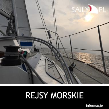 Rejsy Zatoka Gdańska, weekendowe rejsy żeglarskie na jachcie SY Saily