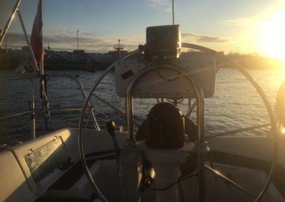 Andzrzejki na zatoce-wschód Słońca