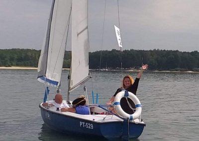 Kurs żeglarski zalew Sulejowski rekreacja