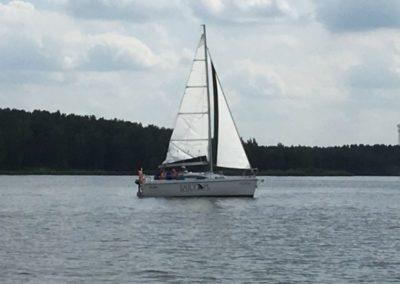 Szkoła żeglarstwa Zalew Sulejowski - manewrówka