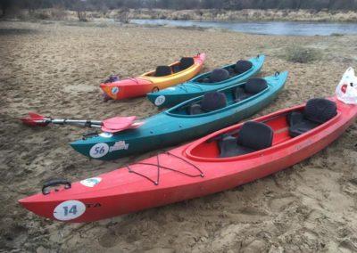 Szkoła żeglarstwa-spływ kajakowy-kajaki gotowe