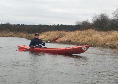 Szkoła żeglarstwa-spływ kajakowy-na trasie