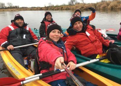 Szkoła żeglarstwa-spływ kajakowy-najlepsza ekipa