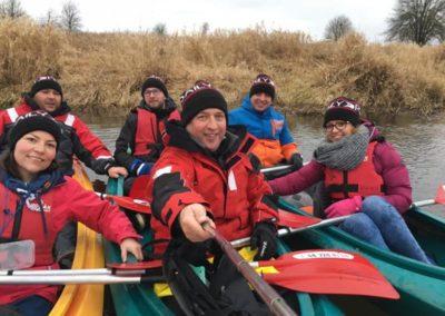 Szkoła żeglarstwa-spływ kajakowy-najlepszy team