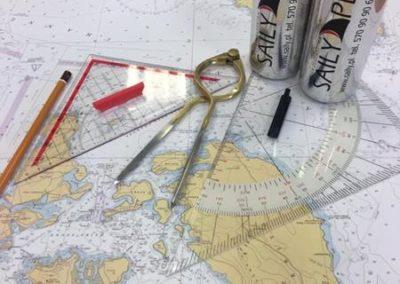 Szkoła żeglarstwa-warsztaty nawigacyjne początek