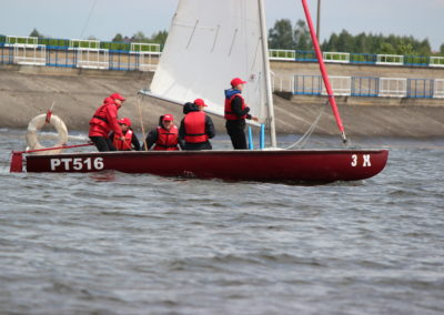 Zalew Sulejowski-regaty szkolne-2014-3LO