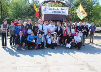 Zalew Sulejowski-regaty szkolne-2014-uczestnicy