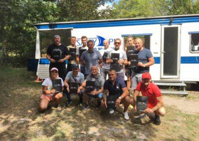 Szkoła żeglarstwa-Zalew Sulejowski-egzamin motorowodny