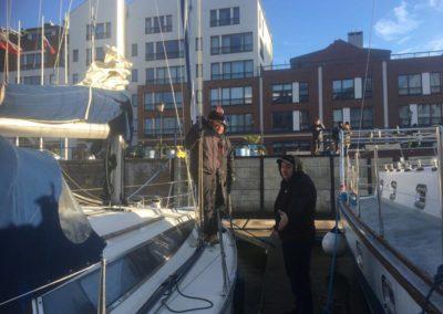 Szkoła żeglarstwa-jachtowy sternik morski-manewry portowe