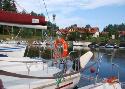 Szkoła żeglarstwa-rejs po Mazurach-Gąsior