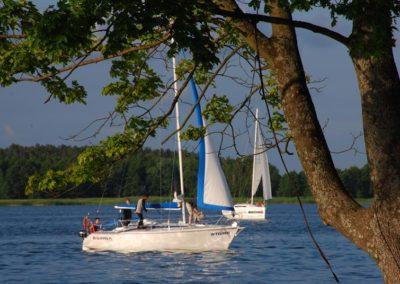 Szkoła żeglarstwa-rejs po Mazurach-Jezioro Tałty