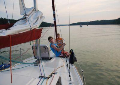 Szkoła żeglarstwa-rejs po Mazurach-na Bełdanach (2)