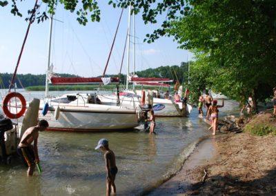 Szkoła żeglarstwa-rejs po Mazurach-na dziko