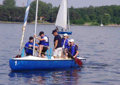 Szkoła żeglastwa-szkolenie żeglarskie-nauka pagajowania