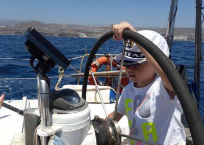 Szkoła żeglarstwa-rejs po Kanarach-Mały Kapitan