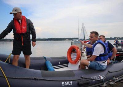 Szkoła żeglarstwa i sportów motorowodnych Szkolenie motorowodne3